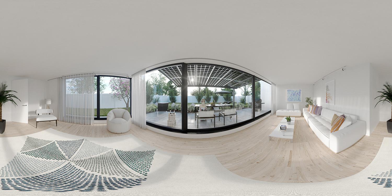 360 Grad Panorama zur Nutzung in einer Virtuellen Tour