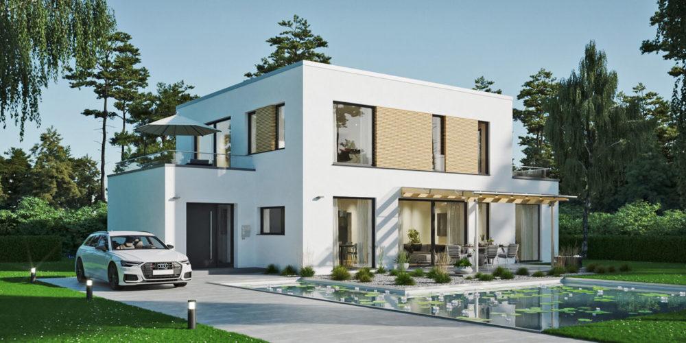 Bauhaus-modern-wohnhaus-rhombus-3d-visualisierung-architekturvisualisierung-pure3d-bielefeld