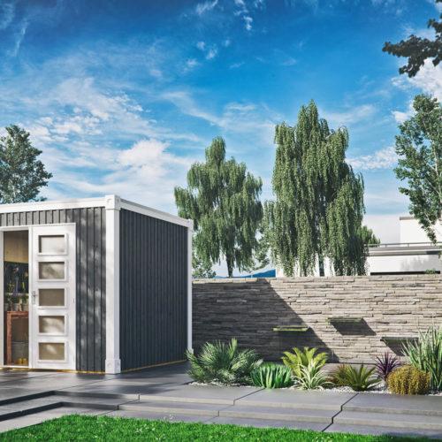 Cube-L-grau-steingarten-modern-weiss-geräteschuppen-3d-visualisierung-gartenvisualisierung-pure3d-bielefeld