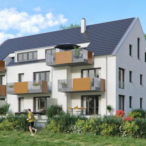 mehrfamilienhaus-lerchenbrühl-garten-balkone-modern-3d-visualisierung-architekturvisualisierung-pure3d-bielefeld